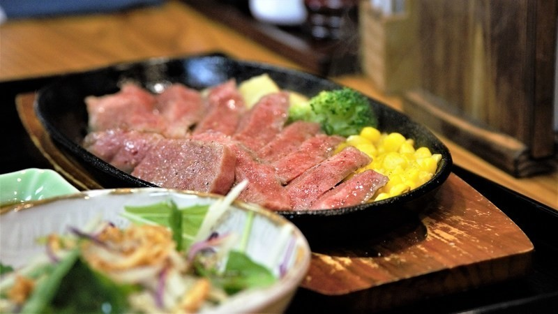 sirloin cut of Murasawa beef