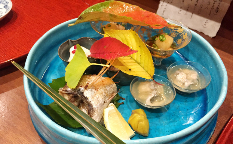Kaiseki dining in Gion