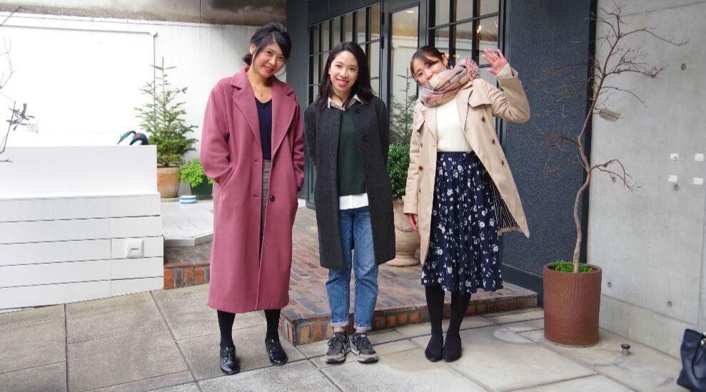 Vanessa (left), Miyabi (middle) and Yumemi