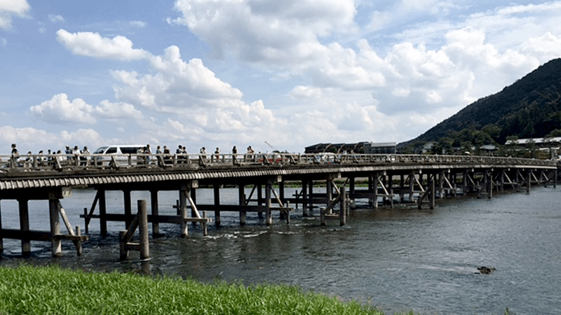 Arashiyama/Togetsukyo Bridge sightseeing area